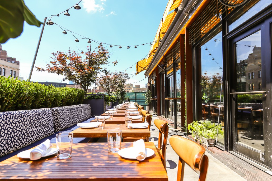 Pilotmadeleine the 10 best rooftops in new york city for The terrace top date