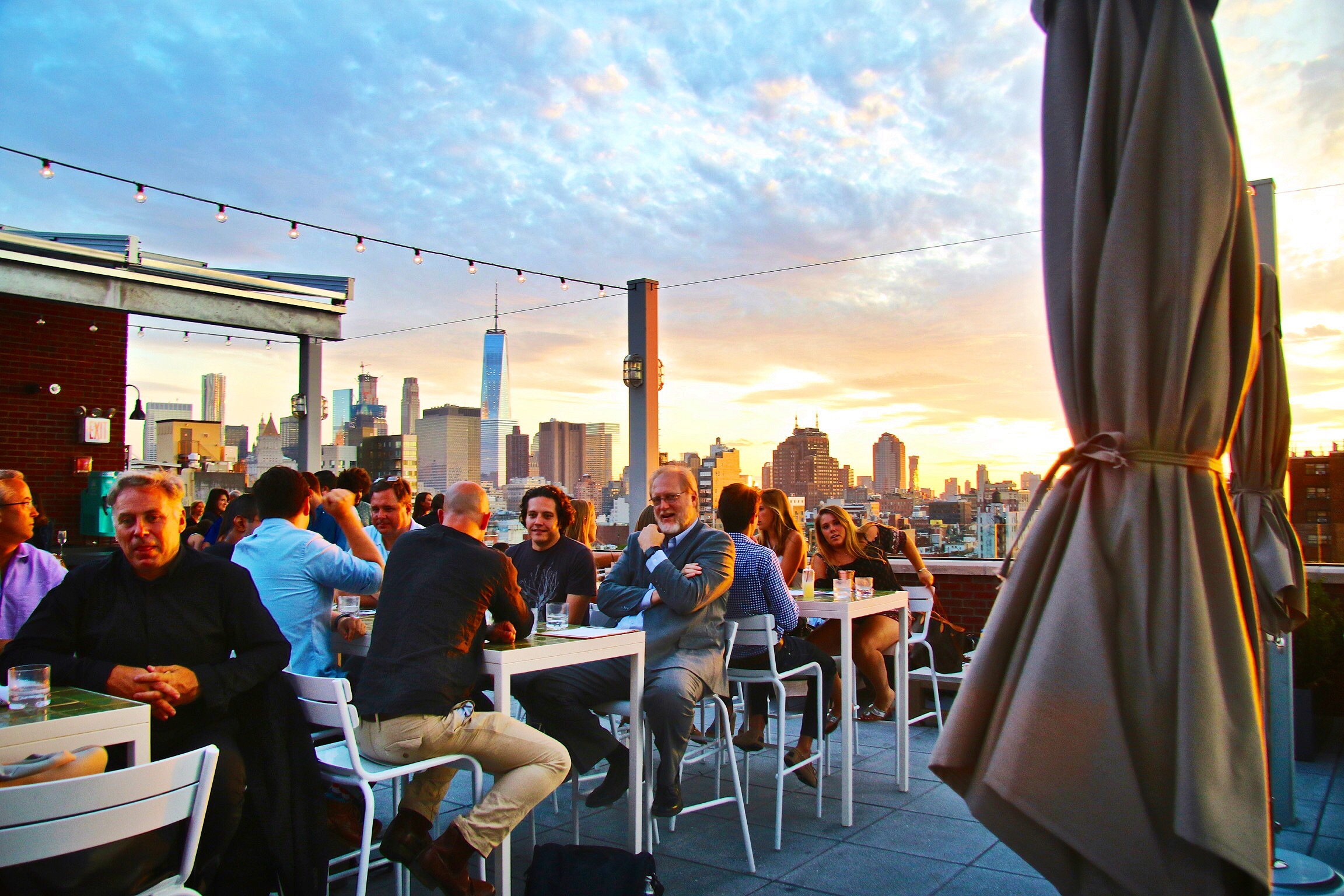 Purple Rooftop Amp Rooftop Bars Nyc